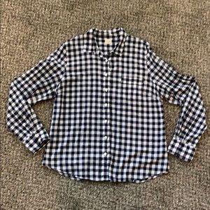 J.Crew Gingham Shirt